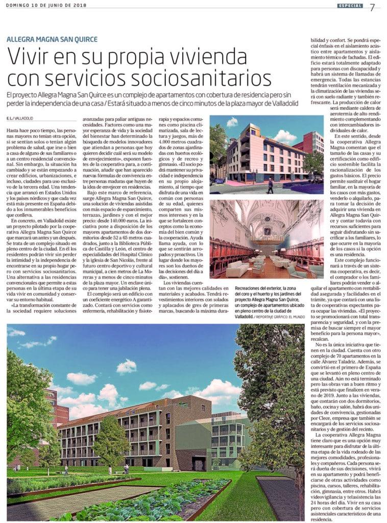 Viviendas para mayores en Valladolid