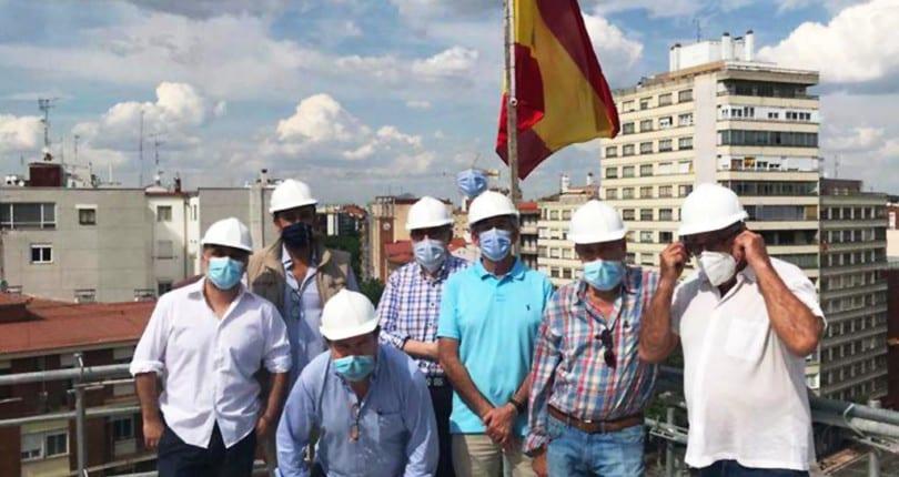 Avanza la obra del Edificio Lucense